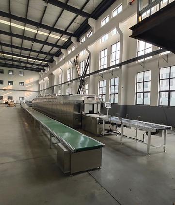 微朗科技—152kW连续式微波蜂窝陶瓷定型设备